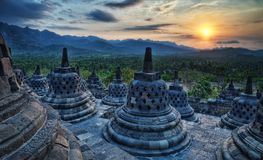 Borobudur Indonesia. Taken in 2011 Stock Photo