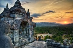 Borobudur Indonesia. Taken in 2011 Royalty Free Stock Photos