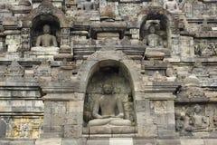 Borobudur, Indonesien Lizenzfreies Stockfoto