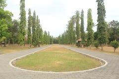 Borobudur ingång Royaltyfri Fotografi