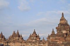 Borobudur ist eins der Wunder Lizenzfreies Stockbild