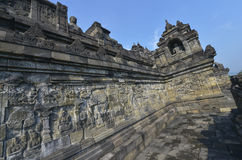Borobudur, Java, Indonesia fotografia stock libera da diritti