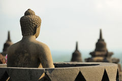 Borobudur, Java island, Indonesia Stock Image