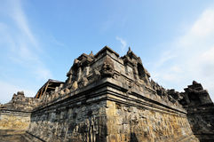 Borobudur, Java island, Indonesia Royalty Free Stock Photos