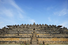 Borobudur, Java island, Indonesia Stock Images