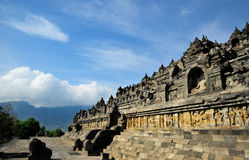 Borobudur, Java island, Indonesia Stock Photo