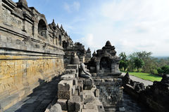 Borobudur, Java island, Indonesia Stock Photography