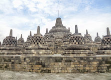 Borobudur in Java Royalty Free Stock Images