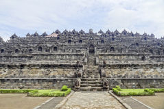 Borobudur in Java. Temple named Borobudur located in Java, a island of Indonesia Stock Image