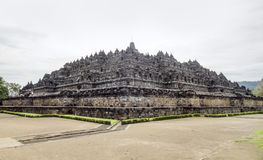 Borobudur in Java. Temple named Borobudur located in Java, a island of Indonesia Stock Photography