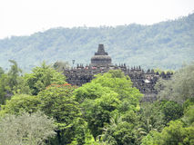 Borobudur in Java. Temple named Borobudur located in Java, a island of Indonesia Stock Photos
