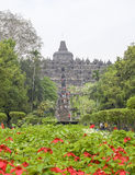 Borobudur in Java. Temple named Borobudur located in Java, a island of Indonesia Royalty Free Stock Photography
