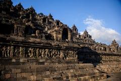 Borobudur-Sonnenaufgang, Java, Indonesien lizenzfreies stockfoto