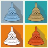 Borobudur Stock Illustrations Vectors 1 Royalty Free Stock Image