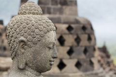 Borobudur Stupa Temple, Yogyakarta, Java, Indonesia Royalty Free Stock Photos