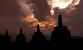 Borobudur tample jawatengah Indonesia obraz stock