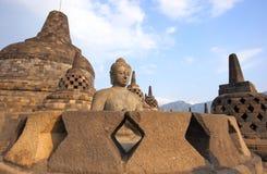 Borobudur tempel Royaltyfri Foto
