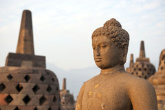 Borobudur tempel Royaltyfria Bilder
