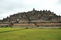 Borobudur tempel Fotografering för Bildbyråer