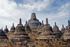 Borobudur Tempel Stockfotos