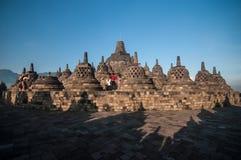 Borobudur Tempel Stockbilder