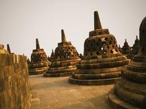 Borobudur tempel arkivbild