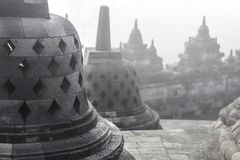 Borobudur Tempel in Indonesien Stockbilder
