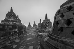 Borobudur Tempel in Indonesien Lizenzfreies Stockbild