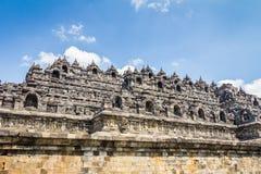 Borobudur-Tempel Java Indonesia Stockfoto