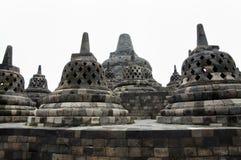 Borobudur tempel - Jogjakarta - Indonesien Arkivfoton