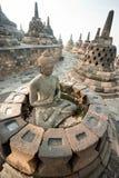 Borobudur tempel, Yogyakarta, Java, Indonesien. arkivfoto