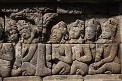 Borobudur Tempel, zentrales Java, Indonesien Lizenzfreie Stockfotografie