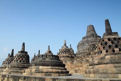 The Borobudur Temple Royalty Free Stock Photo
