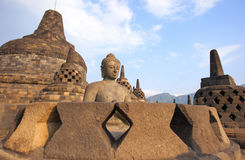 Borobudur Temple. Yogyakarta, Java, Indonesia Royalty Free Stock Photo
