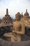 Borobudur Temple. Yogyakarta, Java, Indonesia Stock Images