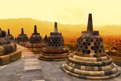 Borobudur Temple Royalty Free Stock Photography