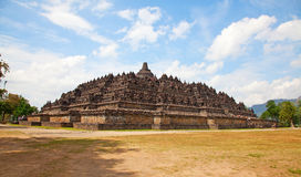 Borobudur temple in Indonesia Royalty Free Stock Image