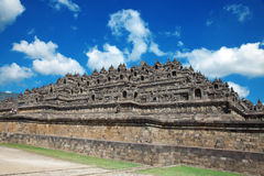 Borobudur Temple Indonesia. Borobudur temple located close to Yogyakarta in Java Indonesia Stock Photography