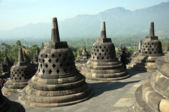 Borobudur Temple .Indonesia. Stock Photo