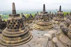 Borobudur Temple, Indonesia Stock Images