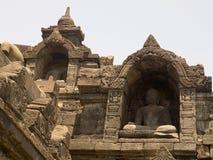 Borobudur Temple in Indonesia. Ancient Borobudur Temple in Indonesia royalty free stock photos