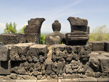 Borobudur Temple in Indonesia Stock Photos