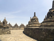 Borobudur Temple in Indonesia Stock Image