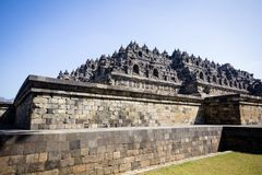 Borobudur Temple Indonesia royalty free stock photos
