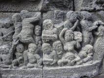 Borobudur temple in Indonesia Stock Photo