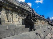 Borobudur temple in Indonesia Stock Images