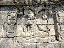 Borobudur temple in Indonesia Stock Image