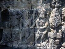 Borobudur temple in Indonesia Royalty Free Stock Photos