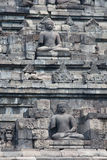 Borobudur temple in Indonesia Royalty Free Stock Photography