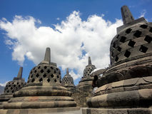 Borobudur temple in Indonesia Stock Images
